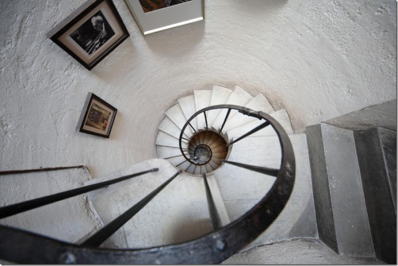 Spiral Stairs in the Basilica of Charity