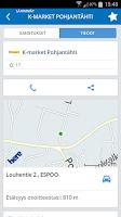 Screenshot of Ruokakaupat