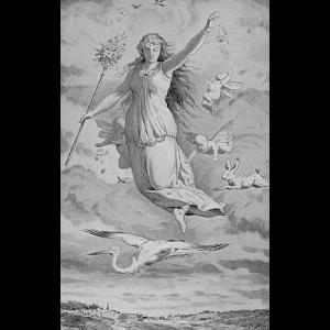 Goddess Ostara Cover
