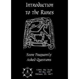 Introduction To The Runes Some Frequently Asked Questions Cover