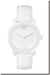 movado bold white