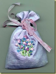 silk sachet