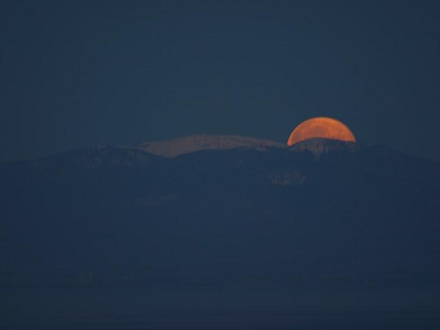 Coucher de lune, hier matin AG013440