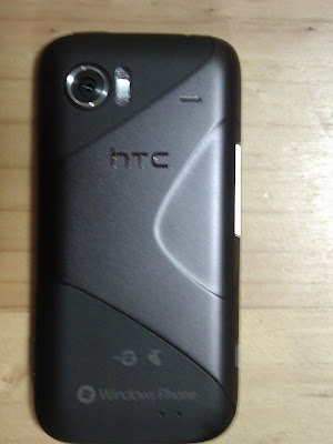 HTC Mozart 7 Windows Phone 7 un boxing part 3