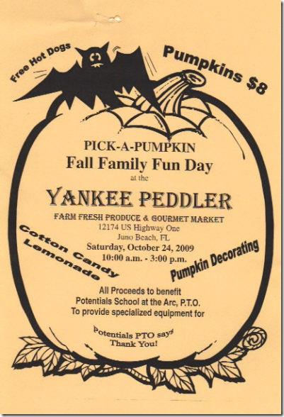 pumpkin fundraiser