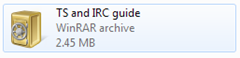 download irc and ts guide