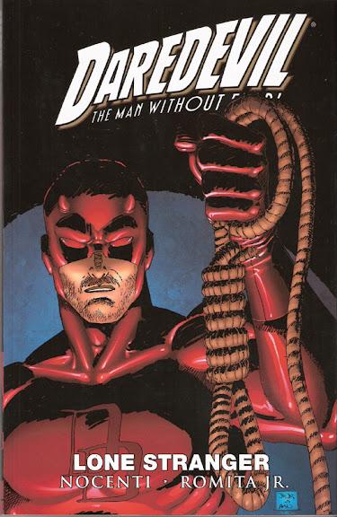 Daredevil: Lone Stranger cover