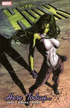 She-Hulk, v. 7: Here Today … cover