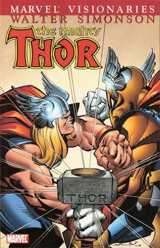 Thor Visionaries: Walter Simonson, v. 1 cover