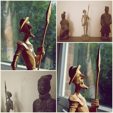 wooden don quixote terracota soldiers (Large)