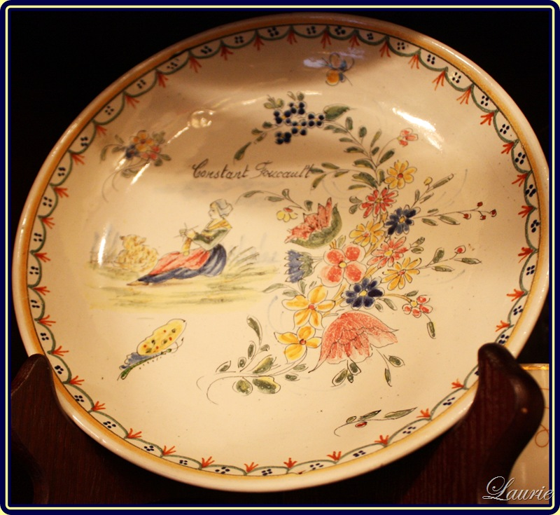 baptism plate