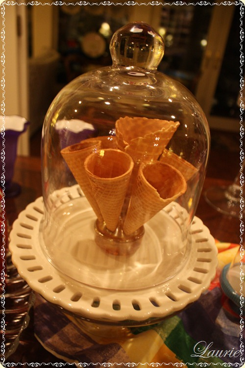 cones in cloche