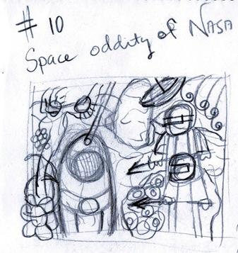 NASA 10 Sketch