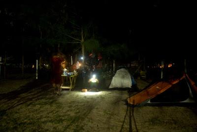 Camping com muita infraestrutura