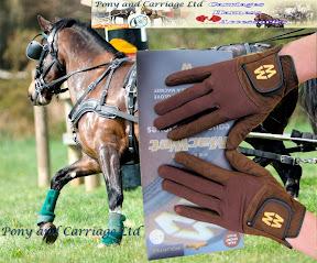 MacWet Aquatec Brown Short Cuff Gloves As Worn By A Notable Royal