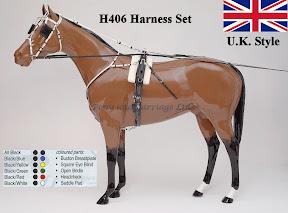 Zilco Racing Trotting Horse Harness  H406
