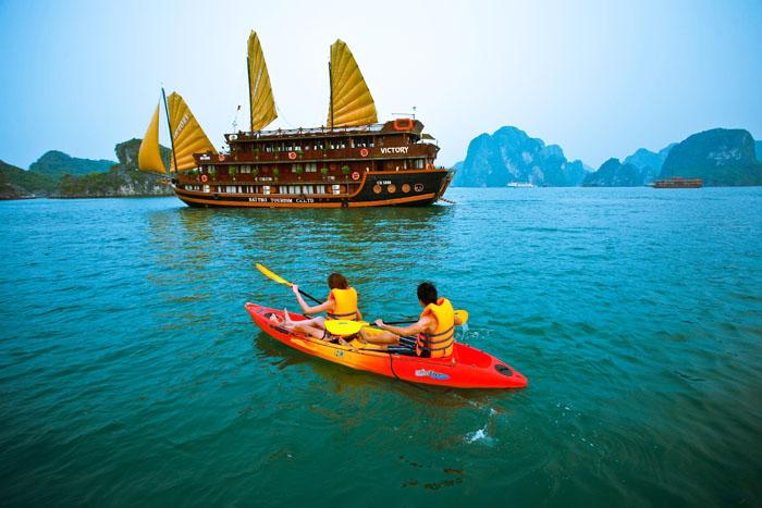 Vacances insolites à bord de jonques au Vietnam