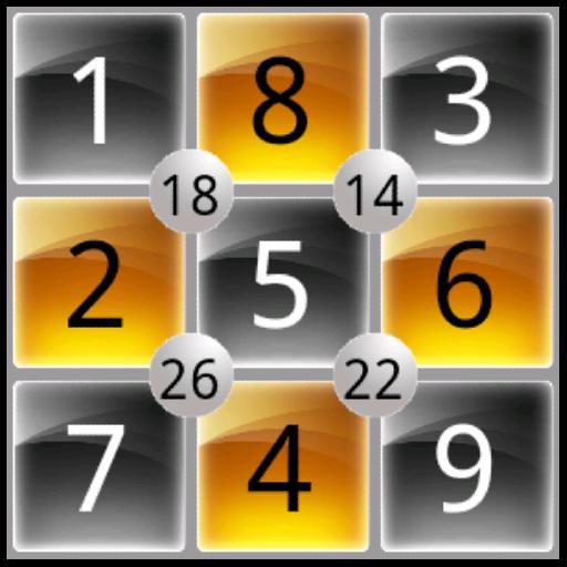 Square Math Puzzle Free