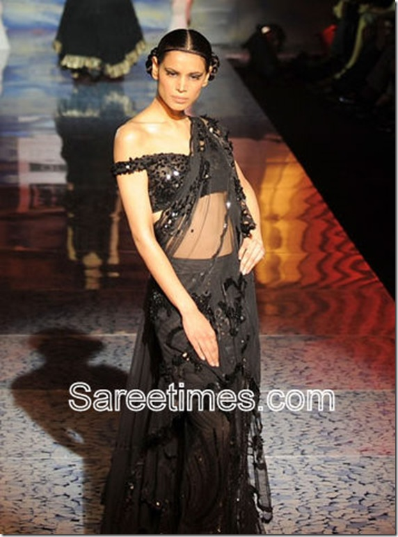 Black_Plan_Saree_Suneet_Varma