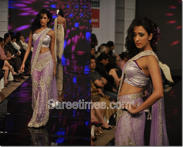 Purple_Designer_Saree