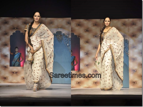 Umair_Zafar_Off_White_Designer_Saree