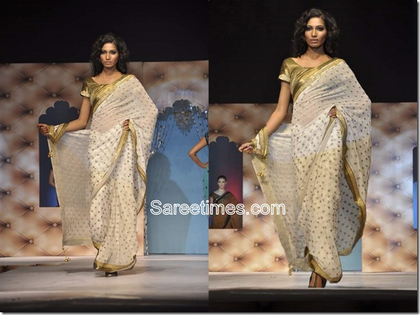 Umair_Zafar_Cream_Designer_Saree