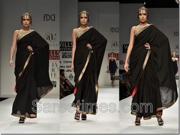 Ashima_Leena_Black_Designer_Saree