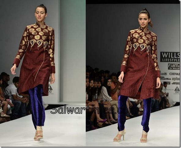 Sonal_Sehgal_Brown_Designer_Salwar_Kameez