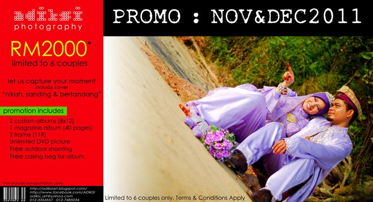 Promo :: NOV & DEC 2011