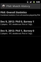 Screenshot of DartEagle Scoreboard