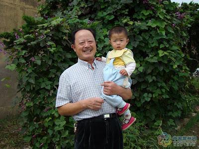 我女儿王令仪和爷爷!