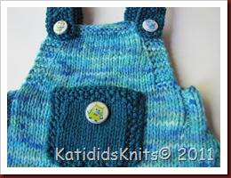 Knit Overalls 029