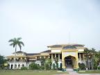 Le palace Istana Maimoon de l'extérieur