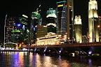 La fameuse baie de Singapour