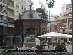 Quiosco de la Plaza de la Paz