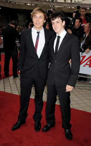 william moseley and skandar keynes. Moseley and Skandar Keynes