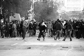 Greek rioters