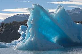 an iceberg