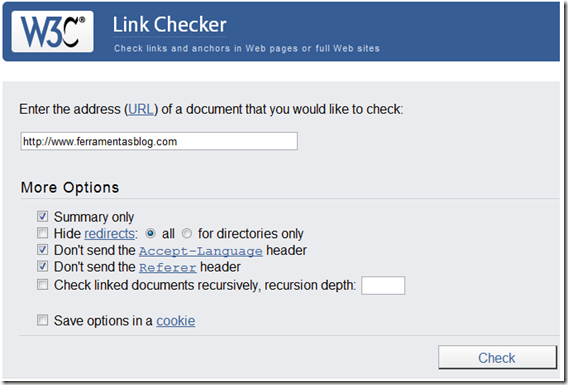 w3c-link-checker-blog