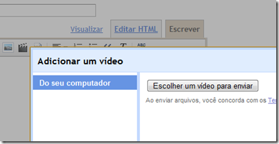 adicionar-video-blogger-padrao