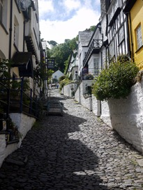 Clovelly's Up-Along or Down-Along