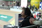 Znany z Eurosportu redaktor Tomasz Jaroński. Ciekawe czy w pobliżu był gdzieś pan Krzysztof? :-)