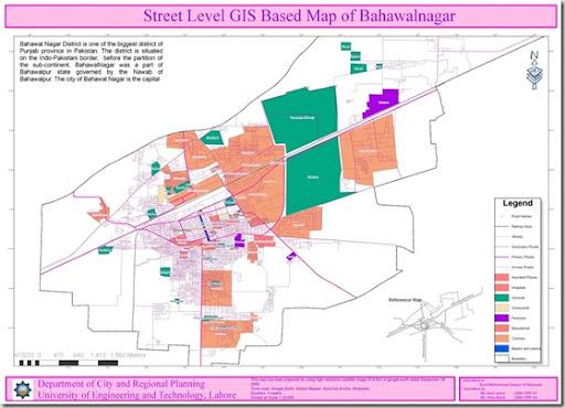 Bahawalnagar GIS Map Pakistan GIS