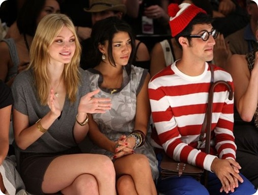 waldo front row