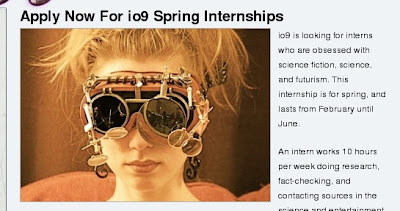 internship at io9