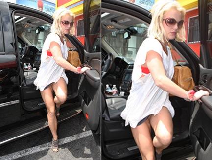 Britney sin calzon