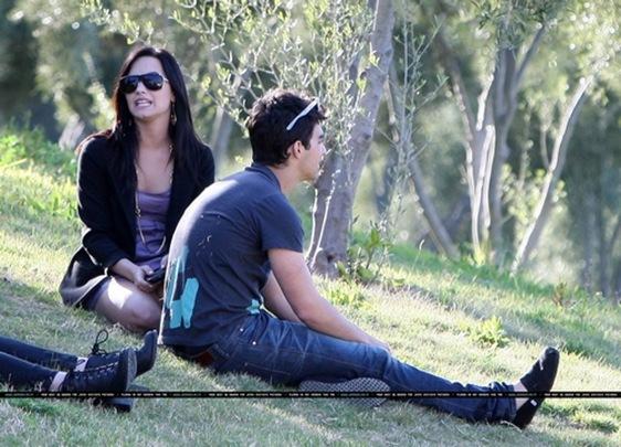 Joe Jonas y Demi Lovato enamorados