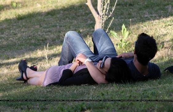 Joe Jonas y Demi Lovato juntos y enamorados
