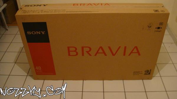 DÉBALLAGE : Télévision Sony KDL-40W5500E