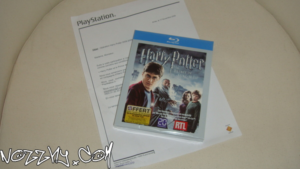 RÉCEPTION : Harry Potter et le Prince de Sang-Mêlé en Blu Ray